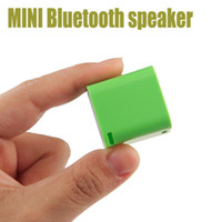 Wholesale Mini Square Bluetooth Speaker Smart Box Portable Handfree Colorful Small Outdoor Sound Box For Iphone s Samsung galaxy s7 s6 DHL Free
