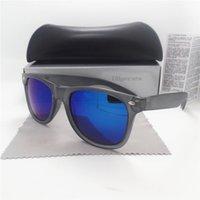 Las gafas de sol de las mujeres de la manera del diseñador de la marca de fábrica diseñan las gafas de sol de las señoras Vntage Eyewear UV400 Los vidrios pilotos de la alta calidad con toda la caja de la caja