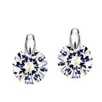Neoglory Charm Cute Stud Earrings Femmes Cadeaux fille Cadeaux Mariage Mariage en ligne Bijoux Indiens 2017 Nouveau