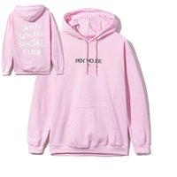 Wholesale Summer Kawaii Anti Social Club Palace Anime Mens Hoodie Hip Hop Streetwear Hoodie Jogging women Pullover YEE ZUS Sport for men jackets
