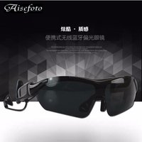 Wholesale Fashion Listen Music answer call Bluetooth Wireless Earphone Sunglasses Sport Stereo Auriculares Headphones Headset Smart Glasses Camera