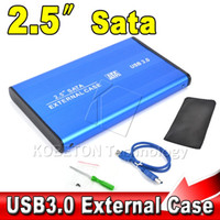 Wholesale High Speed Portable USB to SATA quot HDD External Enclosure USB3 Hard Disk Drive Case Box for PC Computer Laptop Notebook