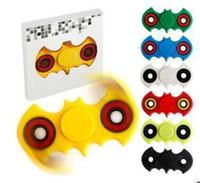 Wholesale Fidget Spinner Hand Spinner Batman EDC Handspinner Tri Spinner Fidget Toy Adults Focus Anti Stress Finger Gyro Toys