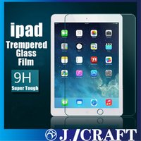 Wholesale Ultra Thin mm H Clear Anti fingerprint Trempered Glass Film Screen protector for iPad iPad Air