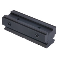 Wholesale Picatinny mm to mm Dovetail to Weaver Rail Mount Base Adapter Scope Mount Converter For Rifle Flashlight Laser Sight free