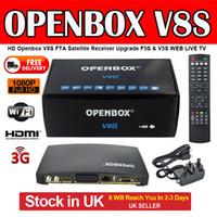 venda por atacado digital receiver-Alta qualidade Openbox V8s Digital receptor de satélite S V8 S-v8 TV Set Top Box Suporte Webtv Biss Chave 3g Youporn Cccamd Newcamd