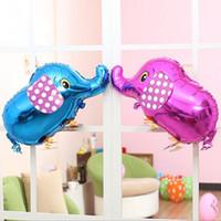 air walker balloons - Walking Pet Balloon Elephant Balloon Animal Air Walker Foil Aluminum Birthday Party toys children Foil Toys WA2155