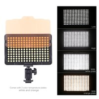 Wholesale PT S LEDs K Portable Photography Video Light Lamp Panel Lighting for Cannon Nikon Pentax Olympus DSLR Camera