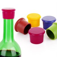 Wholesale Silicone Wine Beer Cover Silicone Cap for Beverage bottle Champagne Bottle Stopper Wine Seal Lids Home Kitchen Bar Tools G239