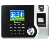 Wholesale Realand inch Screen Biometric Fingerprint Time Attendance USB Office Time Recorder Support ID A C071 P2P Cloud TCP IP