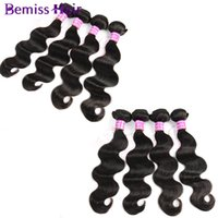 beauty wave long - Indian Body Wave Hair Bundles Peruvian Virgin Human Hair Extensions Brazilian Long Weaves Styles Natural Color Health And Beauty Top Quality