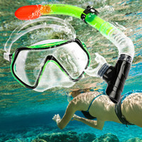 antifog mask - wimming Diving Diving Masks OXA New Professional Antifog Scuba Diving Mask Snorkel Glasses Set Underwater Silicone Swimming Fishing Pool