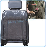 Wholesale 2PC cm Big Size Car Seat Cover Back Protectors for Children Babies Dogs Protect from Mud Dirt Universal Blue Black Color