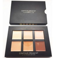 beauty skin cream - Makeup Concealer Palette Contour Cream Kit Brands Face Cosmetics Make Up Face Beauty Tools LIGHT MEDIUM DEEP