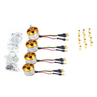 Airplanes ad motor - F02015 AD A2212 KV Brushless Outrunner Motor W Mount with Pairs MM Banana Plug Male and Female Soldered