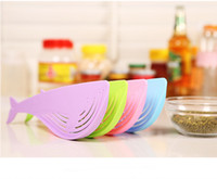Wholesale Wash Rice Device Whale Shape Non Toxic and Tasteless Not to Hurt the Hand Candy Colors Thicken Red Bean Green Bean Kitchen Creative Kitchenw