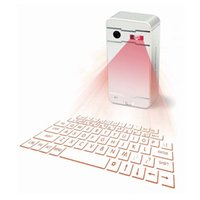 Claviers infrarouges Prix-2017 MINI Téléphone portable Bluetooth sans fil Laser Laser IPAD Flatbed Magic Infrared Virtual Projection Keyboard