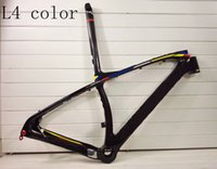 bicycle frames materials - 2016 New Arrival color mountain MTB carbon fiber bike frame bicycle bicicleta frameset size er er B XS S M L Carbon Fibre materials