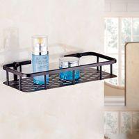 Beverage basket display rack - and Retail Wall Mount Bathroom Storage Display Rack Oil Rubbed Bronze Shower Caddy Basket