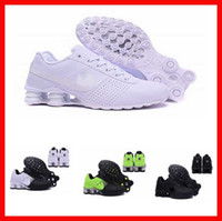 baseball studs - air shox deliver NZ R4 top designs for men basketball running shoes white hip hop sneakers spikes studs crystal lace flat casual shoes