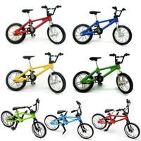 Venta al por mayor-Bebé niños nuevos Funcional Finger Mountain Bike Boy Boy regalo de juego creativo