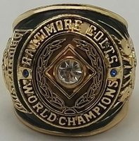 Nuevos 1958 Baltimore Colts Super Bowl Campeonato Anillos