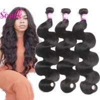 Wholesale Peruvian Virgin Hair Body Wave So Silk Hair Product Peruvian Brazilian Body Wave Bundles Short Human Hair Bundles Bulk Waev