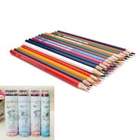 base high school - New High Quality Colors Marco Fine Art Drawing Oil Base Non toxic Pencils Set For Artist Sketch School Writing