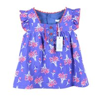 beautiful blouse patterns - 2016 new fashion casual style beautiful lovely floral pattern baby girl sleeveless blouses summer cotton shirts gift for kids