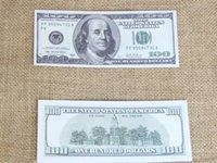 Wholesale 2014 Learning Dollars Trainings Banknotes Bank Staff Training Banknotes Christmas Gifts Collect for Home Decor Arts Crafts
