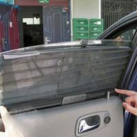 Wholesale Car window sunshade curtain Black Side Rear Window Sunshade Sun Shade Cover Mesh Visor Shield Screen windshield sunshade