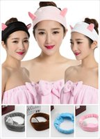 Wholesale fashion head band for wash face fashion hair band for relax headband for shower hair band accessories
