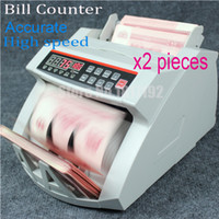 300pcs bank counting machine - LCD Display Money Bill Counter Counting Machine UV MG Cash Bank MONEY COUNTER currency count machine110v220v fastship via DHL p