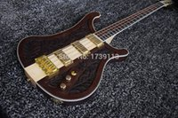 Wholesale In Stock Good Quality Neck Through Ricken LK Lemmy Kilmister Limited String Electric Bass