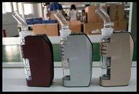 DK4 vaporisateur à cire mod filtre à eau bong en verre élément en céramique de la chambre à beignets élément filtre à eau cire brûleur à fumer sèche herbe 30W mod kit