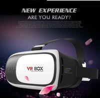 Wholesale Google cardboard VR BOX II Version VR Virtual Reality D Glasses For inch Smartphone