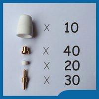 Wholesale PT31 LG40 Air Plasma Cutter Cutting Consumables Plasma Nozzles TIPS Fit Cut40 D CT312 PK