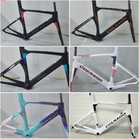 Wholesale Colnago Concept complete carbon fiber Frame road bicycle bike Frame fork headset size XXS XS S M L XL