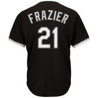Wholesale Men s Todd Frazier Majestic Black Alternate Cool Base Player Jersey