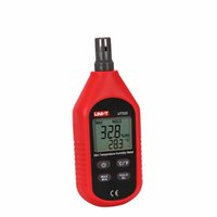 Electrical air moisture meter - UNI T UT333 Mini LCD Digital Thermometer Hygrometers Air Temperature and Humidity Meters Moisture Meter Sensor