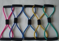Wholesale Resistance Training Bands Tube Workout Exercise for Yoga Type Body Building Fitness Equipment Tool