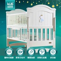 Wholesale crib infanette Baby baby crib wood multi function baby cradle crib bed table neonatal bed game bed nets