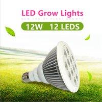 aquatic light bulbs - 12W LED Grow Light Bulb E27 Growing Plant Lamp for Greenhouse Hydroponic Aquatic Indoor Plants Grow Lighting V V