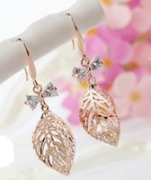 Wholesale Alloy Diamond Earrings Personality Retro Hypoallergenic Earrings High end Women s Earrings