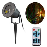 AC ac lasers - Laser Lights Waterproof Red Green Romantic Star Projector Landscape Spotlights for Christmas Decoration Outdoor Garden Yard Wall