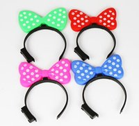 Wholesale pics Party Girls Flashing Butterfly Hair Braid Tool for New Year Christmas Day Dancing