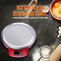 accurate mechanical - Kitchen scales LCD display accurate Portable LCD Digital Electronic digital Stainless steel cooking food precision Weight Measure Balance
