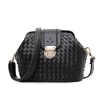 american handbag manufacturers - The new European and American designer handbag fashion woven shoulder women bag lady tide lock bag manufacturer