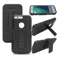armor soldier - Future Soldier Heavy Duty Protection Shockproof Kickstand in armor back cover case for Google Pixel XL Google Pixel Belt Clip case