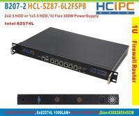 Wholesale HCiPCB207 HCL SZ87 L2FSPB Z87 L intel LAN U Firewall BareBone